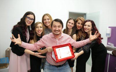"""Damyanov dental Дентална клиника Дамянов с награда """"Дентална практика с ясен фокус и визия за бъдещето"""""""