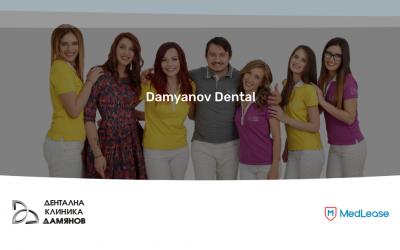 """Damyanov dental Дентална клиника """"Дамянов"""" сключи партньорство с MedLease за финансиране на лечението на пациенти финансиране на лечението"""